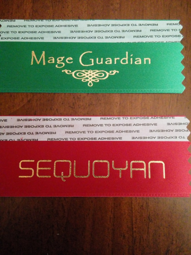 Fan badge flags